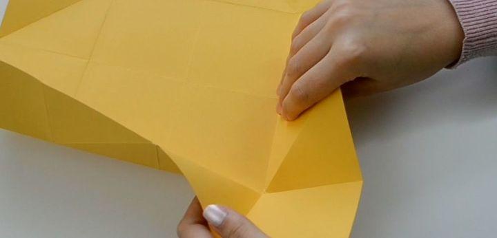 how to make a napkin fold card thank you card