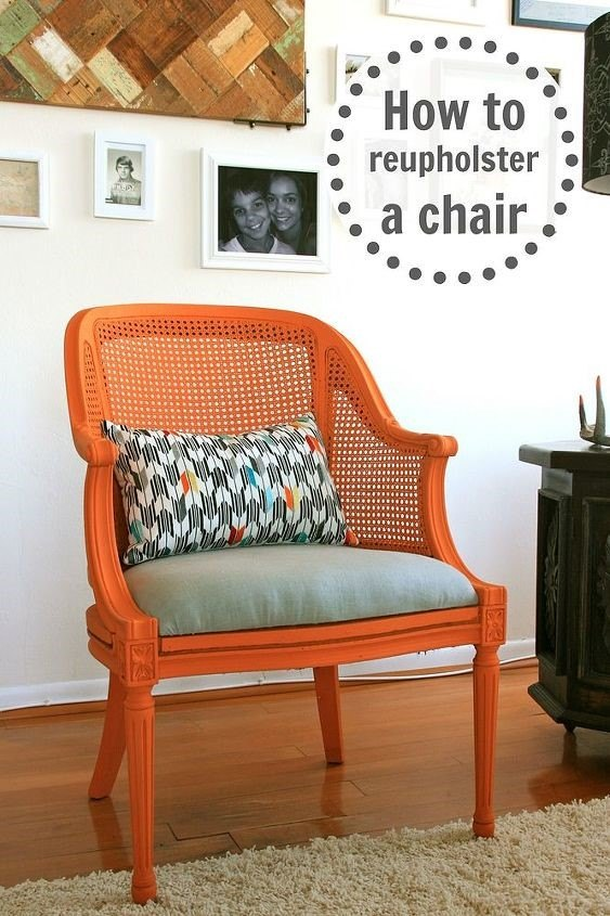 How To Reupholster >> How To Reupholster A Chair In 5 Easy Steps Hometalk