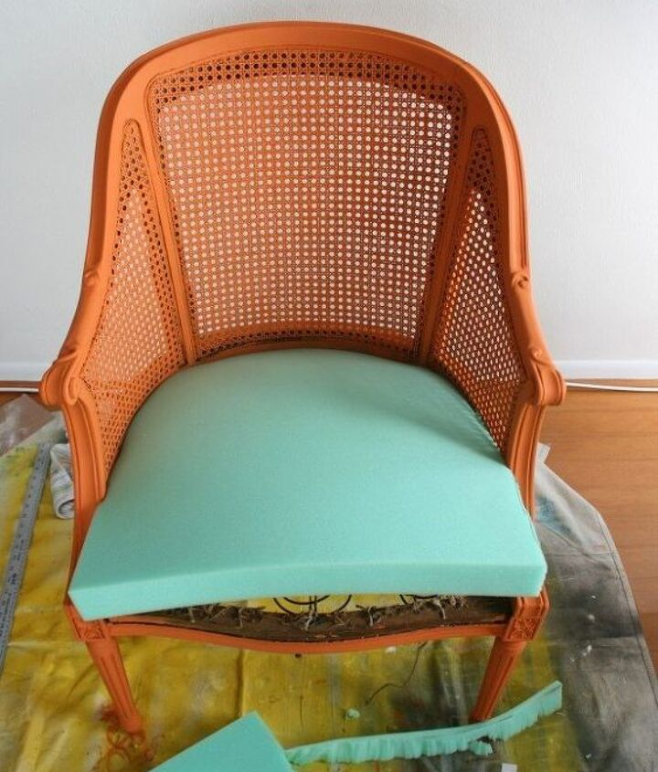 Reupholster a Chair Seat | jamie at C.R.A.F.T