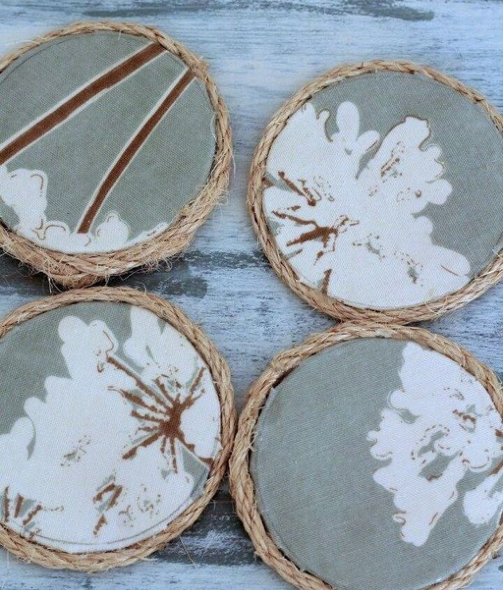 s last minute diy gift ideas for everyone on your list, Original coaster are easy and super nice