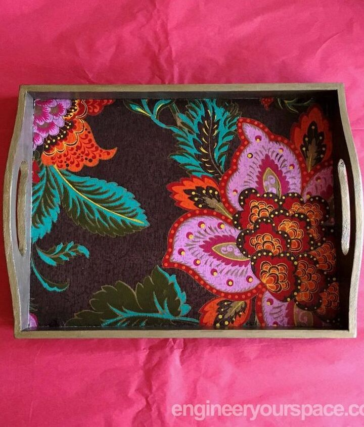 s last minute diy gift ideas for everyone on your list, A beautiful DIY tray mom grandma material