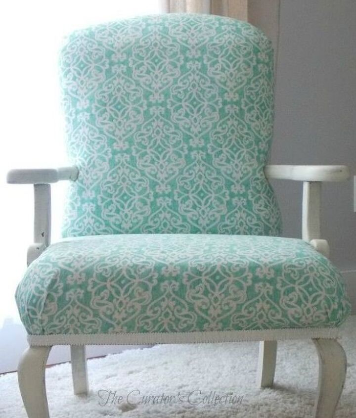 Upholstering An Antique Chair (Terry Foster)