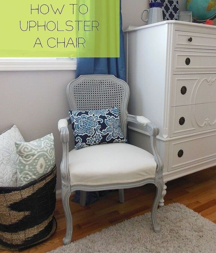 (Reupholster a French Chair (The Weathered