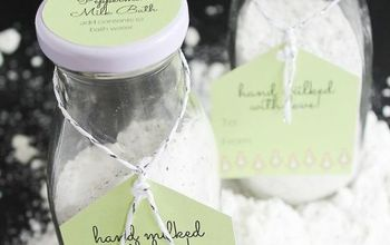 Milk Bath With Coconut and Peppermint