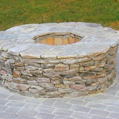 how to build a diy fire pit no matter your budget or skill level, Outdoor Fire Pit Ideas Patricia Presto