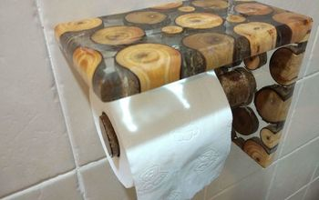 epoxy toilet paper dispenser 7 by 6