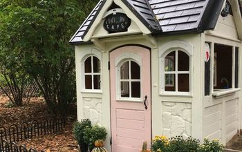 Paint a Wooden Playhouse