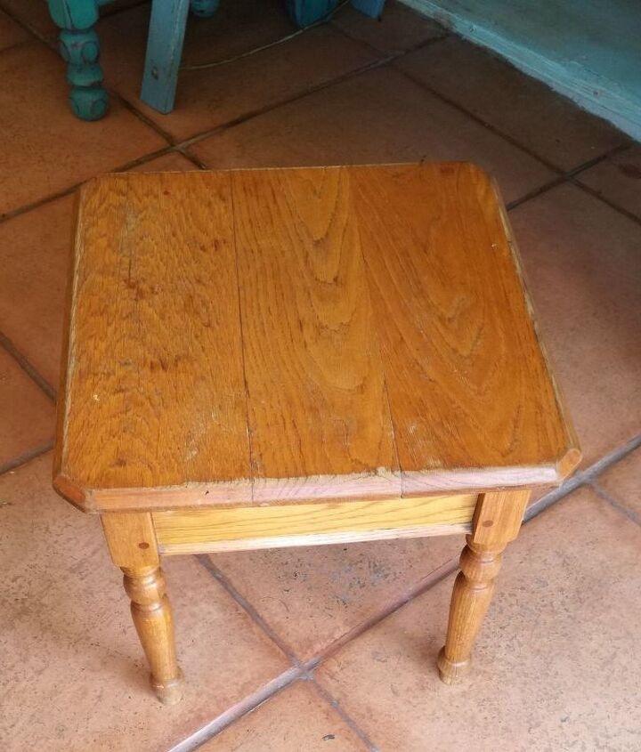 Dated Oak Coffee Table in need of TLC