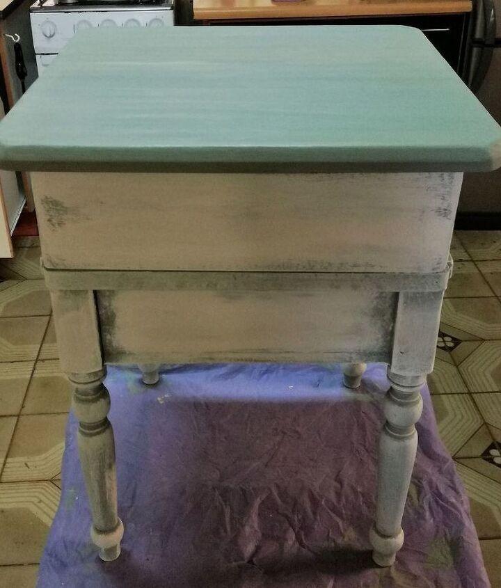 Bedside Table beautification in progress