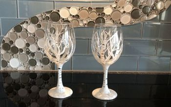 Birch/Aspen Wine Glasses