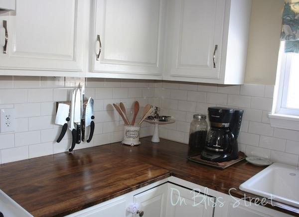 Gorgeous Wood Countertops Anybody Can DIY | Hometalk