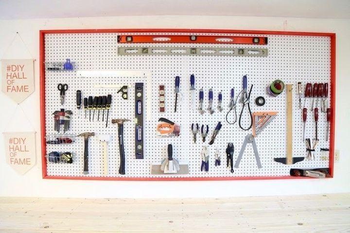 garage tool storage (Love & Renovations)