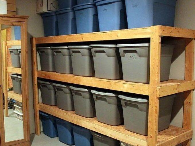 7 diy garage storage ideas you can use right now, garage wood storage Diy Design Fanatic