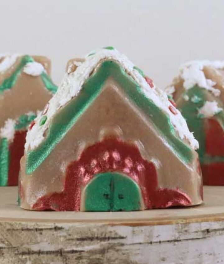 gingerbread house soaps