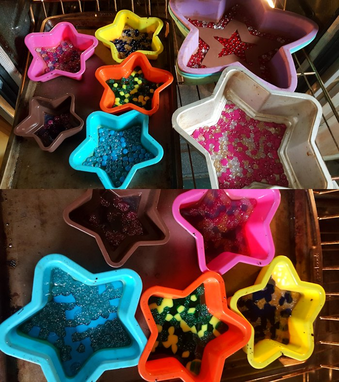 pony bead stars for outdoor tree decorations