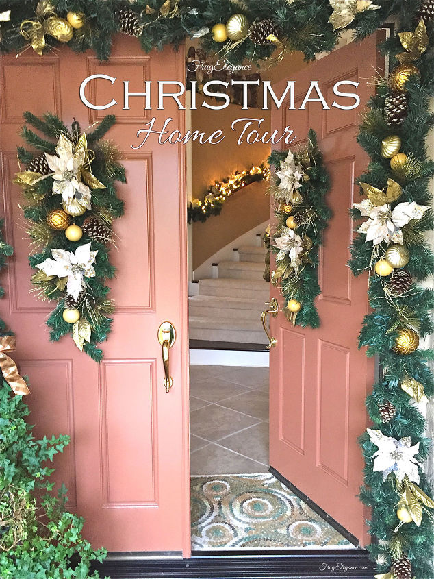s it s beginning to look a lot like christmas, A Christmas Home Tour by FrugElegance