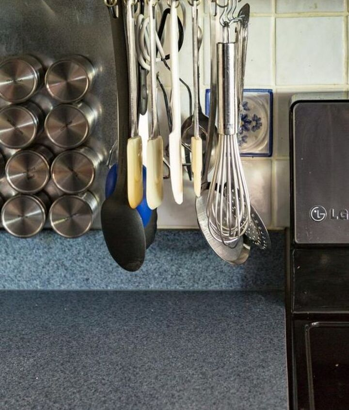 s 19 ways to organize your kitchen this new years, DIY Rotating Cooking Utensil Storage Rack