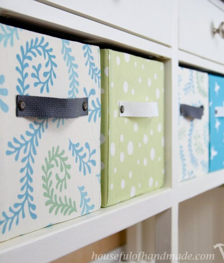 s 8 ways to turn cardboard boxes into beautiful storage for your home, Fill your shelves with these bright beauties