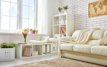 8 easy steps to transform your living room decor, living room decor ideas Shutterstock