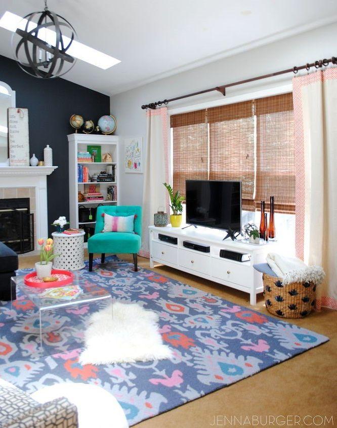 eclectic room decorating ideas (Jenna Burger Design)