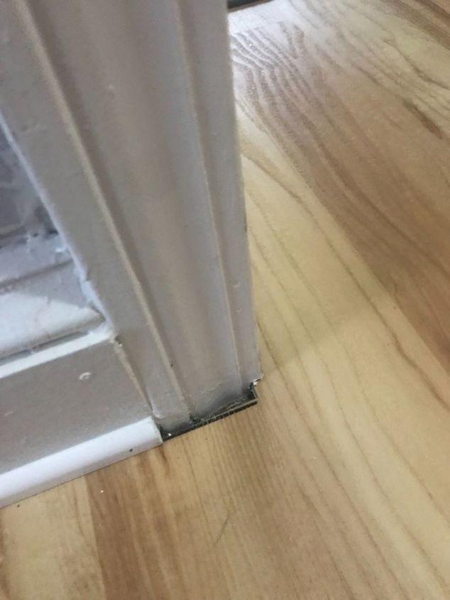 How Can I Fill A Gap Between The Wall And Floor Hometalk