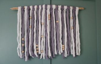 How to Make DIY Yarn Wall Hanging