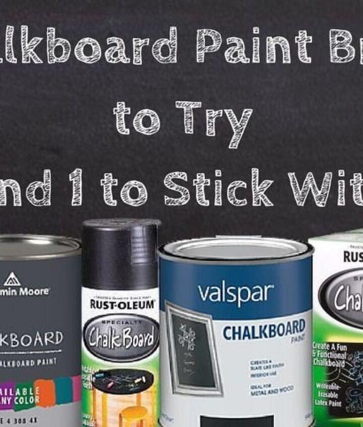 Best Chalkboard Paint (Hometalk Reviews)