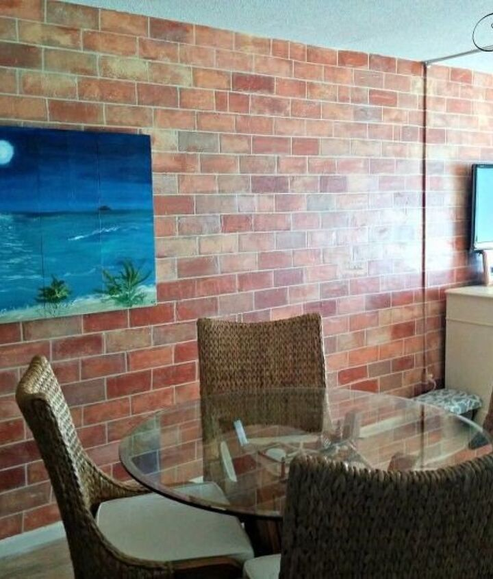 How to Paint Faux Brick (Cheryl Phan)