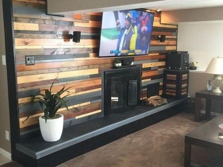 DIY Fireplace Makeovers Guaranteed To Impress