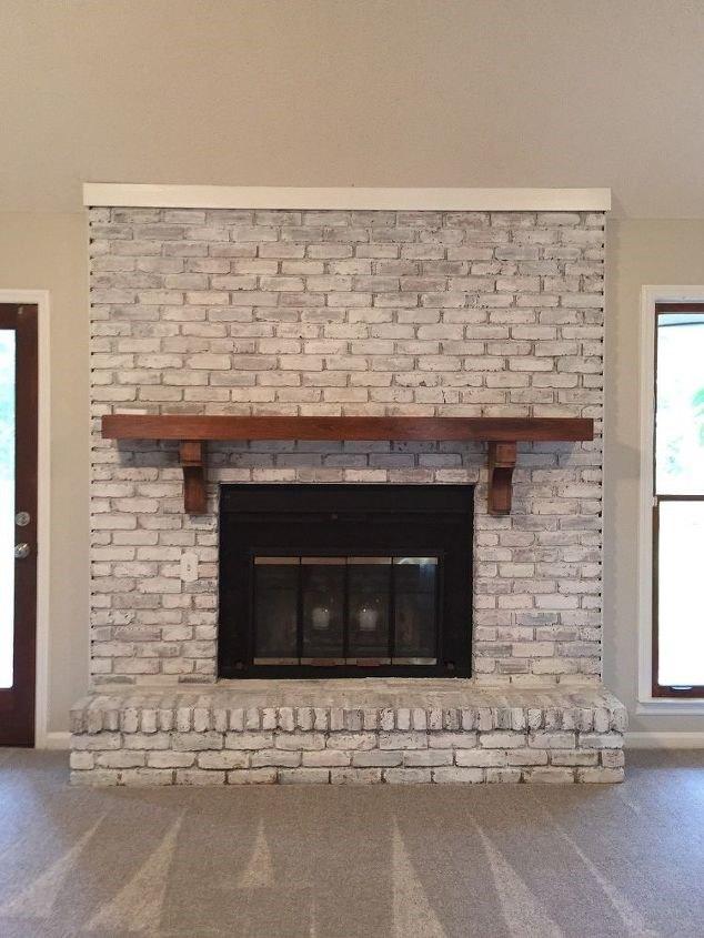Brick Fireplace Remodel (Angela Hodges Lloyd)