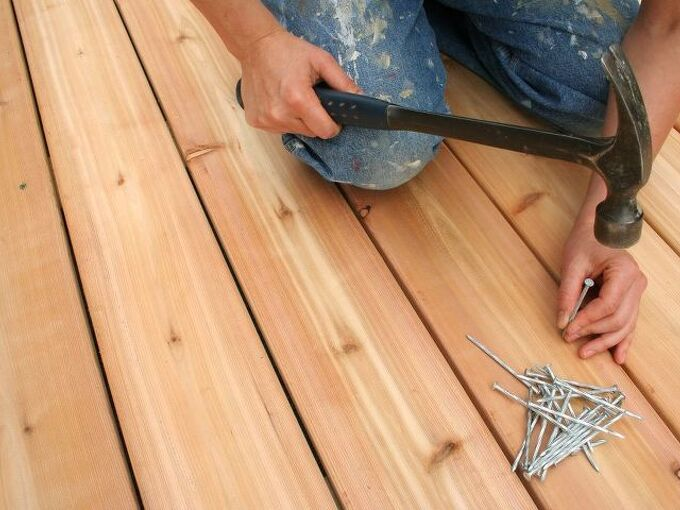 how to build a deck with your own two hands, How to Build a Deck Shutterstock