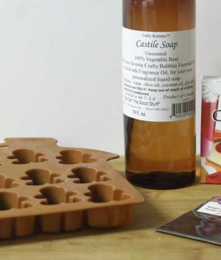 gingerbread jelly soaps
