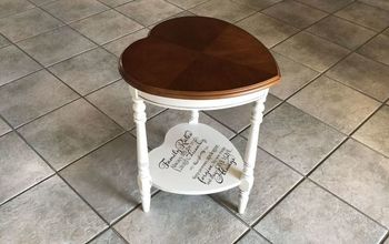 Heart Table Upcycle