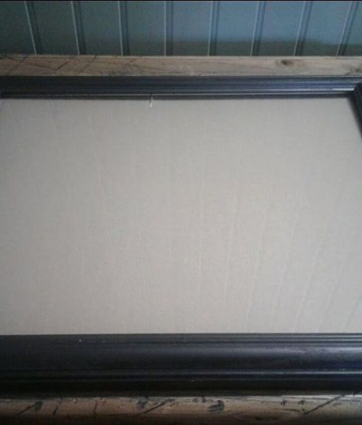 rustic tabletop tray from a picture frame