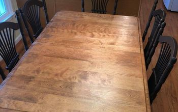 how to successfully strip and stain a wooden tabletop