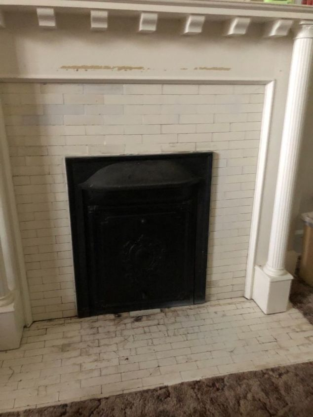 q paint this fireplace