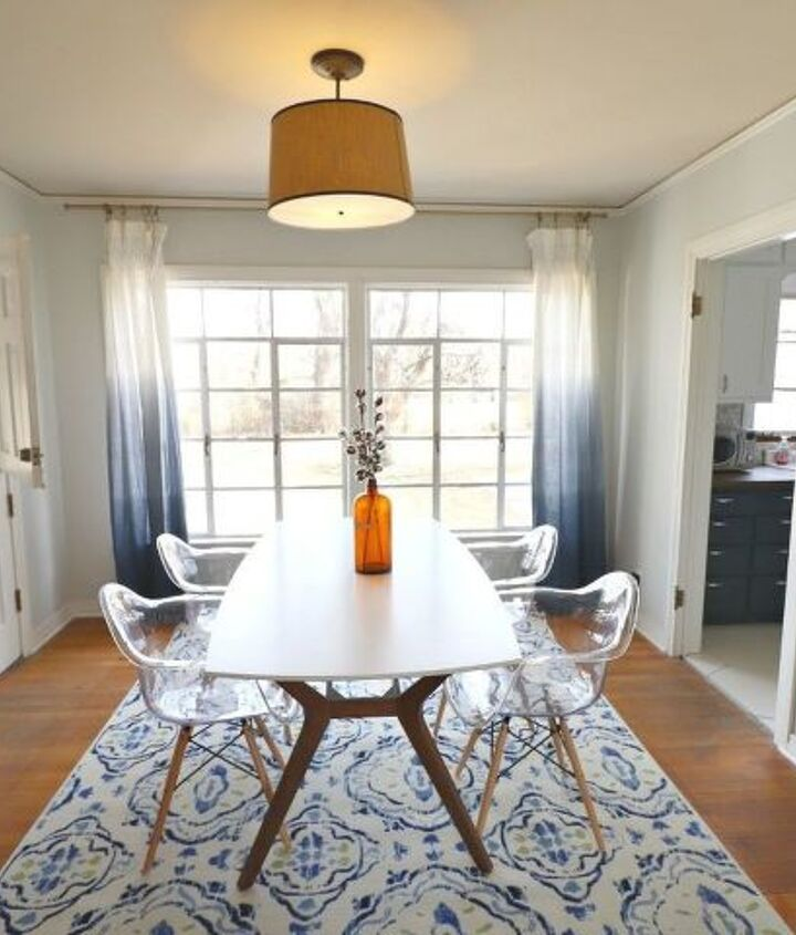 dining room makeover on a budget
