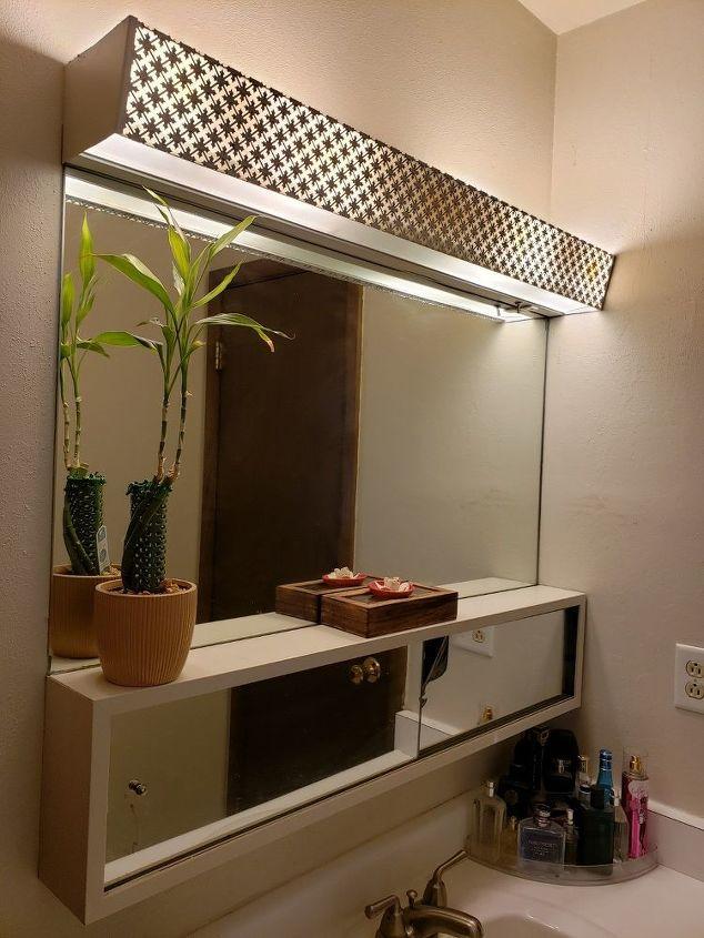 q update a 60s mirror medicine cabinet