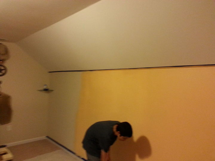 q what can be done with slanted walls