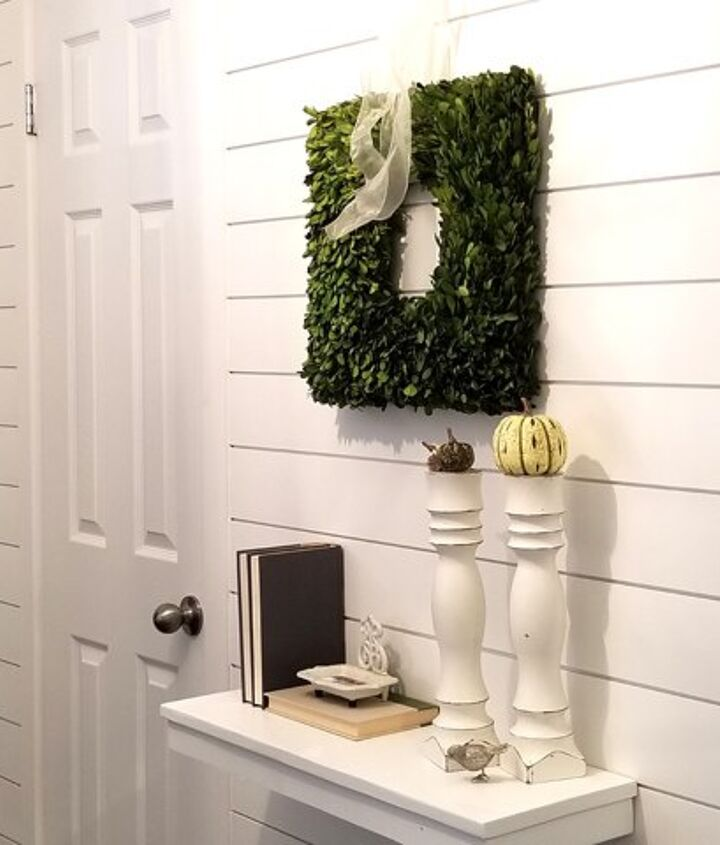 s 30 more popular ways to transform a room for 2019, Entryway Shiplap
