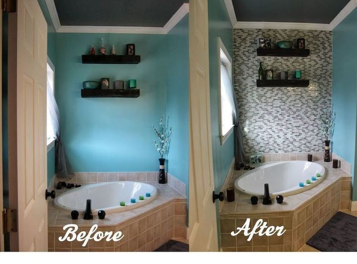 Bathroom Renovations Before and After (Paint Speckled Pawprints)