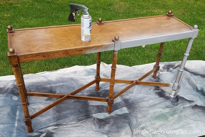 sofa table re do