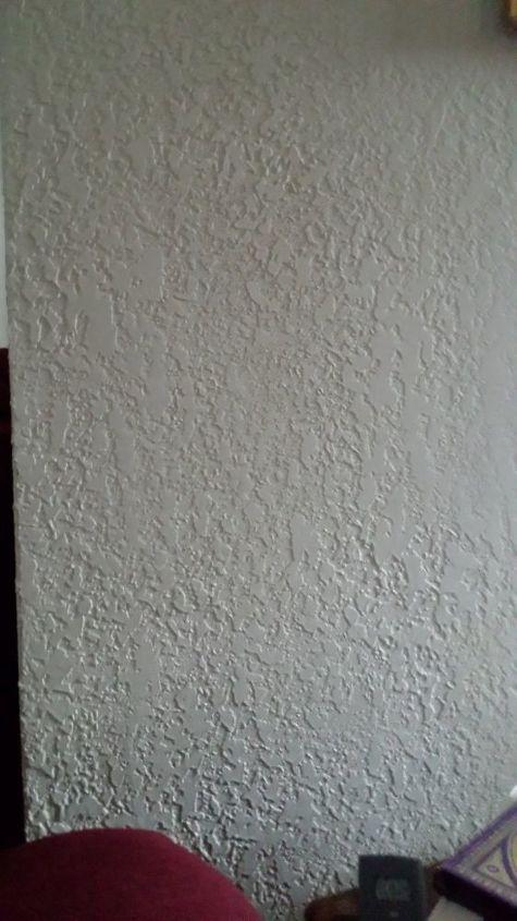 q how do i create two toned wall