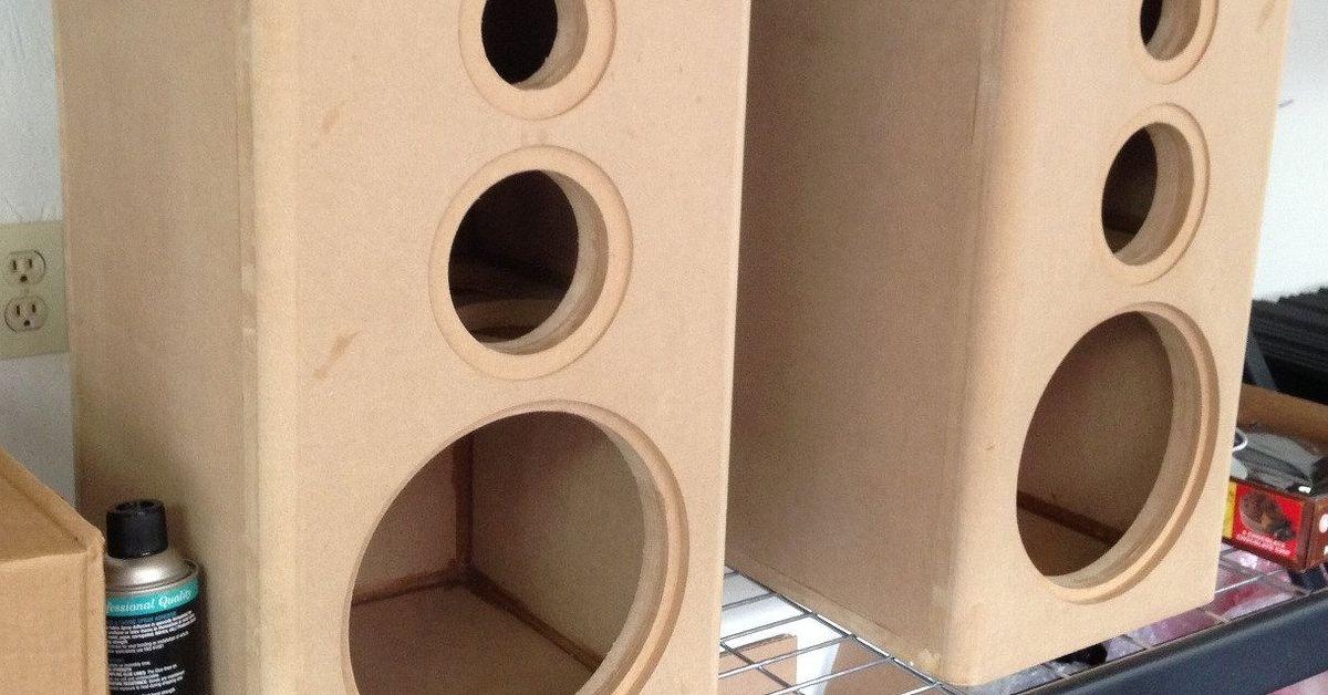 How to Build an Audio Speaker Box: DIY Guide  Hometalk