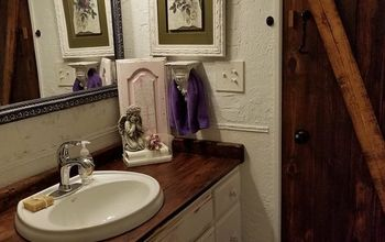 guest bathroom overhaul makeover