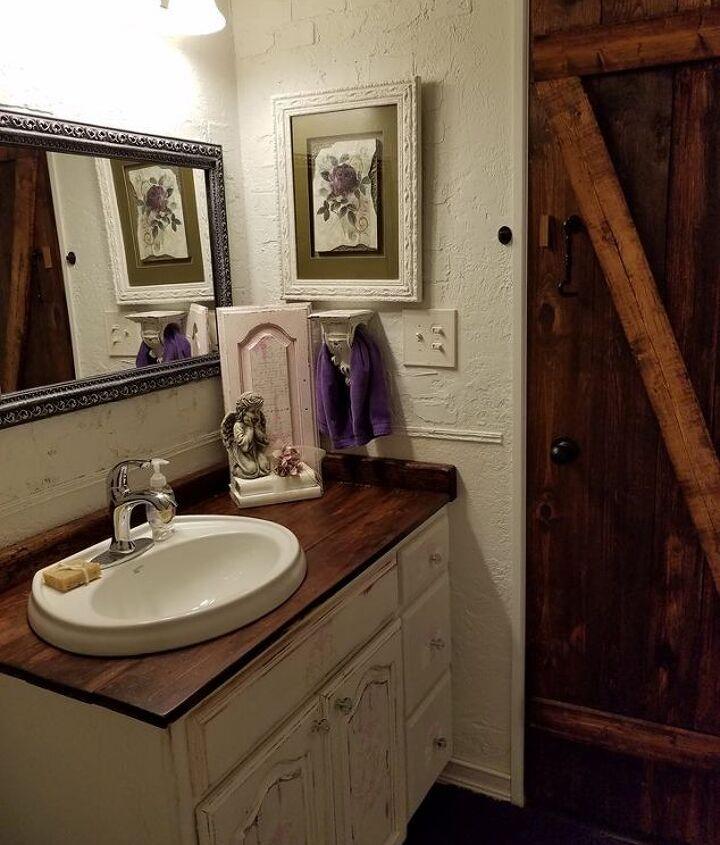 guest bathroom overhaul makeover