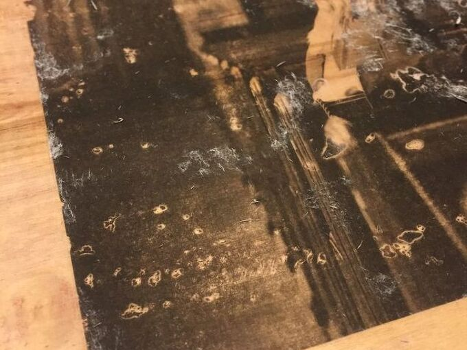 photo to wood transfer in 6 easy steps