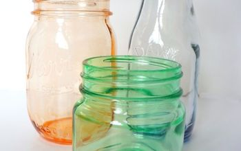how to tint glass jars