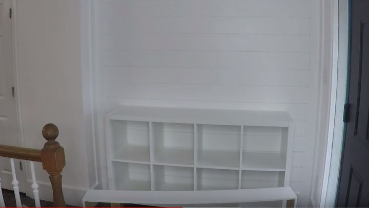 budget ikea hack entry table and entryway organization