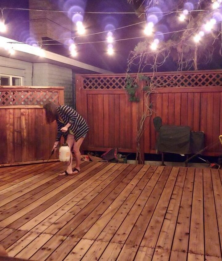 how to restore your neglected deck